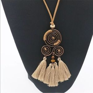Jewelry - 🌞Rope Tassel Necklace🌞
